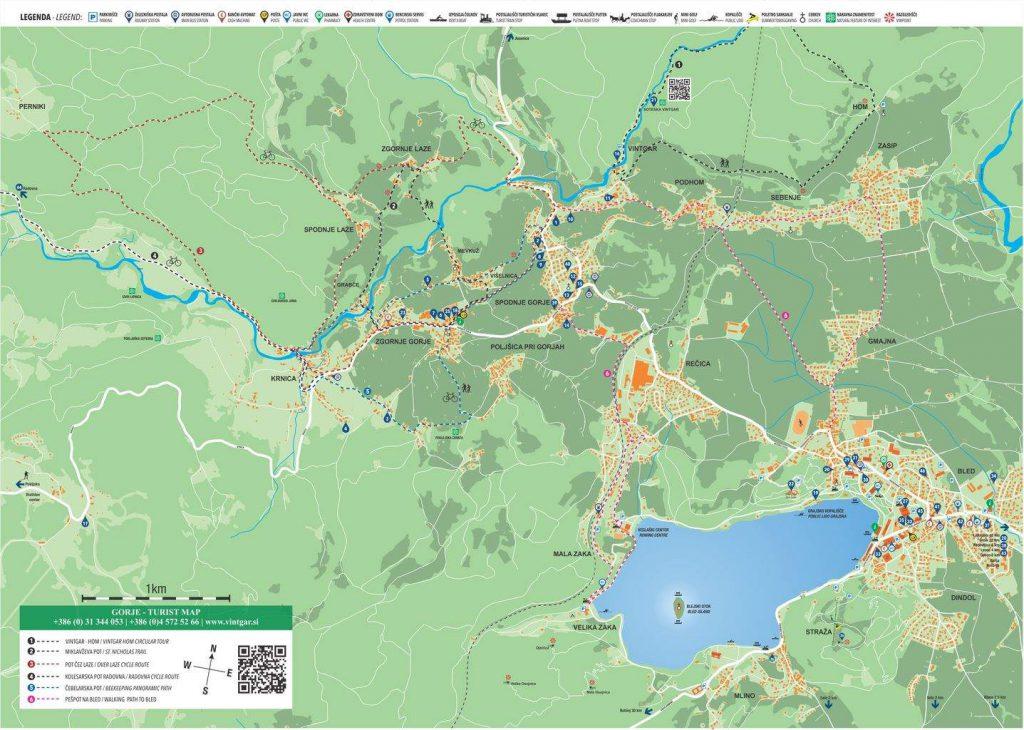 zemljevid gorje A3