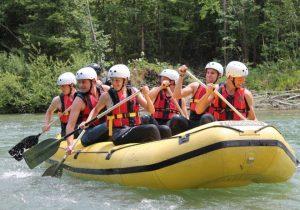 Slika rafting